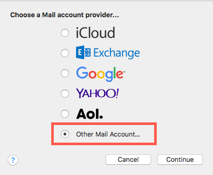 3 other email account