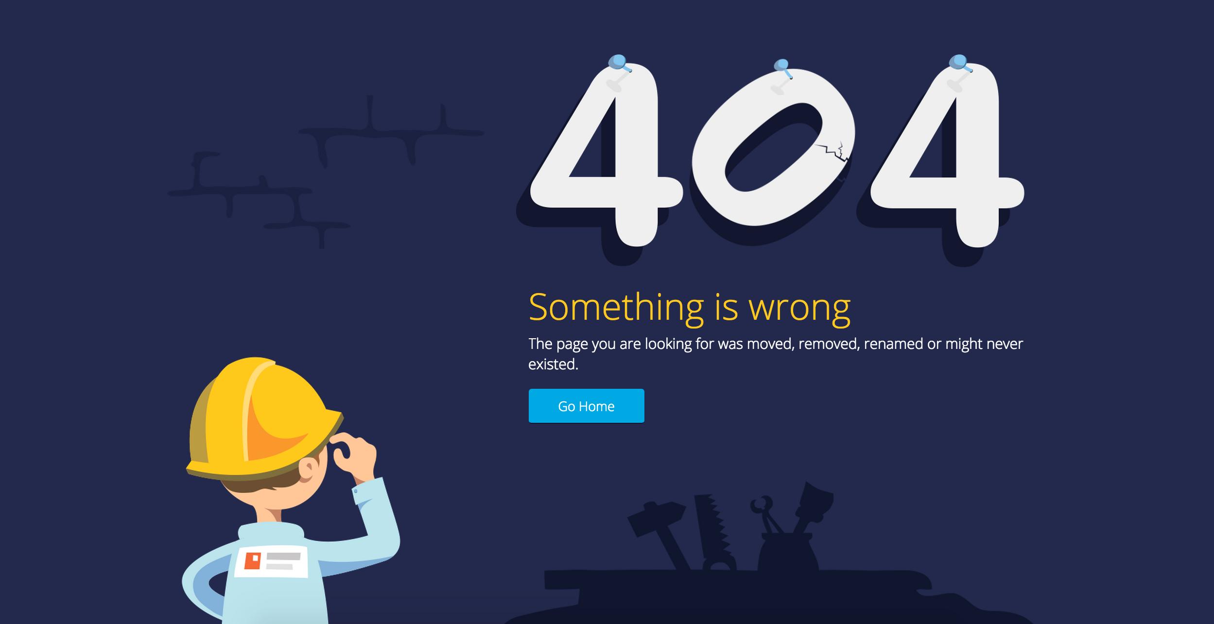 چطور یک صفحه خطای 404 خوب داشته باشیم