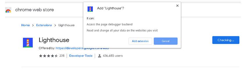 Testez la vitesse du site avec Google