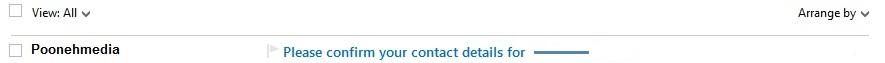 Email 1 ایمیل تایید رسلو (resello)